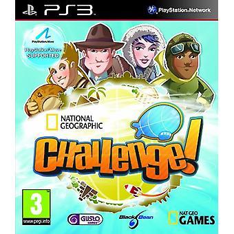 Kansallinen maantieteellinen haaste! - Siirrä yhteensopiva (PS3) - Uusi