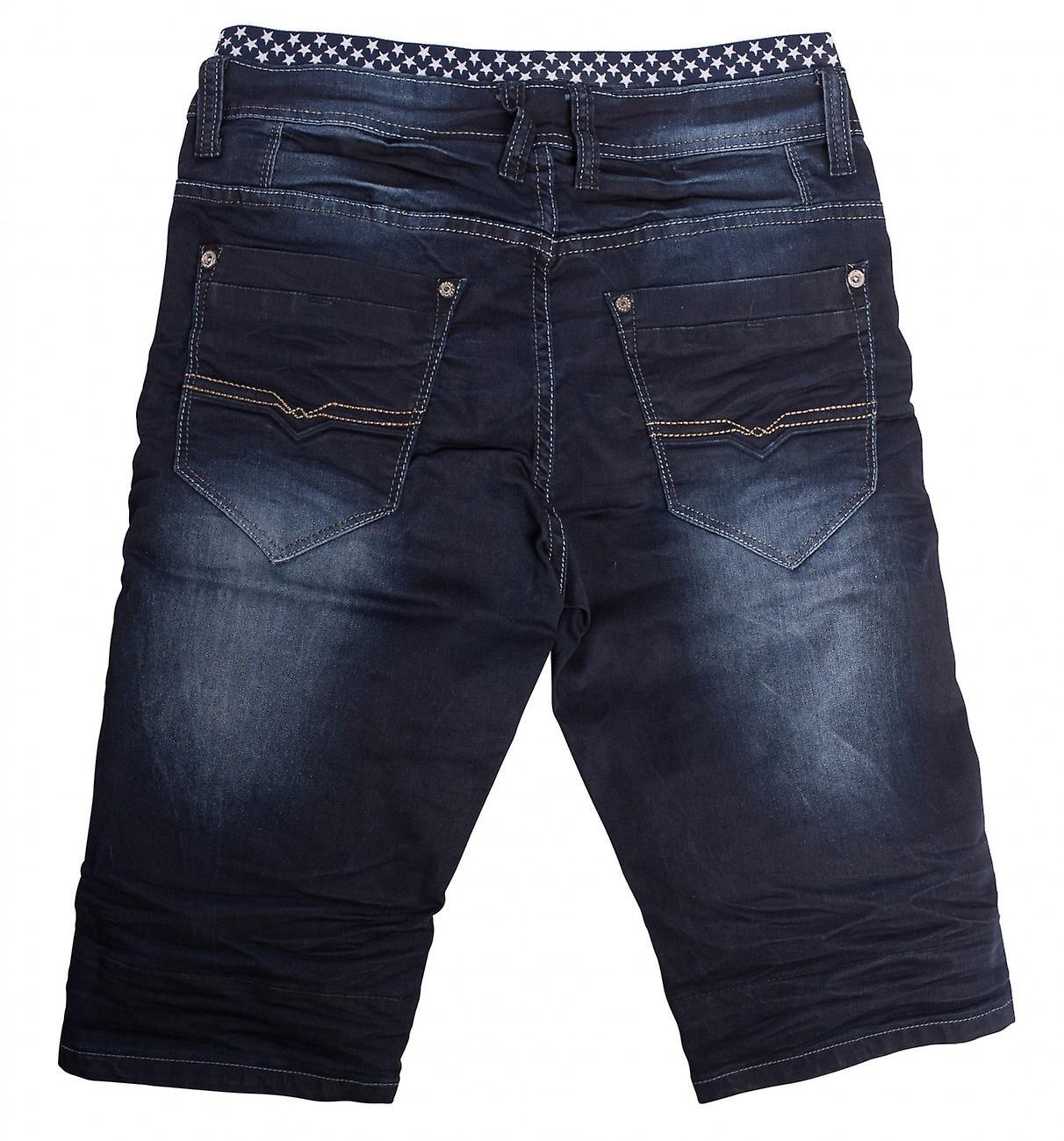 De Jogging Denim Jeans hommes pantalons pantalons Shorts Boxer Slim Jeans Stone Washed utilisés iXbd4E