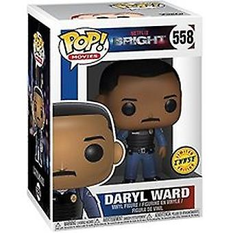 Daryl Ward (ljusa) Chase med Wand Funko Pop! Vinyl figur + Pop Protector