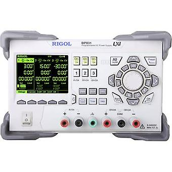Rigol DP831 Bank PSU (instelbare spanning) 0-8 V DC 0-5 A 195 W Nee. van uitgangen 3 x