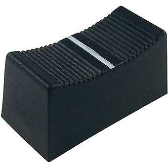 Cliff CP3260 schuif knop Blk Cs/1A (voor 4mm schacht)