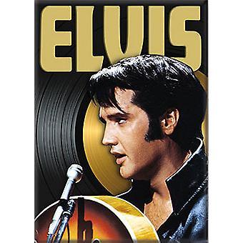 Imán del refrigerador de Elvis Presley
