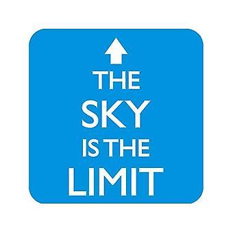 El cielo es el límite bebidas Mat / montaña rusa