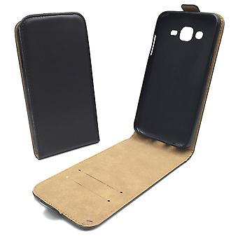 Mobiele telefoon geval zakje voor mobiele Samsung Galaxy J5 zwart