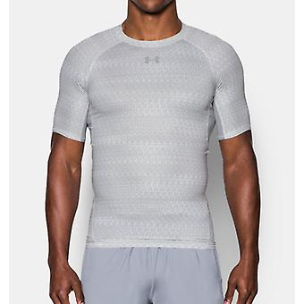 Armure de under Armour Herren Kompressions-shirt Heatgear® avec impression, manches courtes