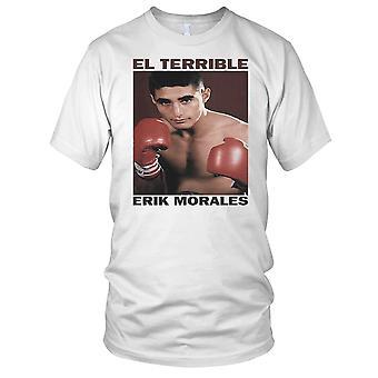 El forferdelig Erik Morales boksing legende damer T skjorte