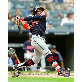 Francisco Lindor 2018 Action Photo Print