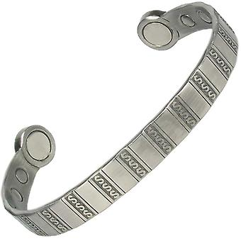 MPS® HERO Pewter Mega Strength Magnetic Bangle with Gift Pouch