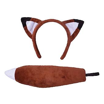Bnov Fox Set (Ears + Tail) Costume