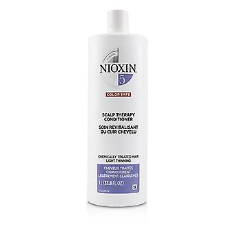 Nioxin Density System 5 Scalp Therapy Conditioner (chemically Treated Hair Light Thinning Color Safe) - 1000ml/33.8oz