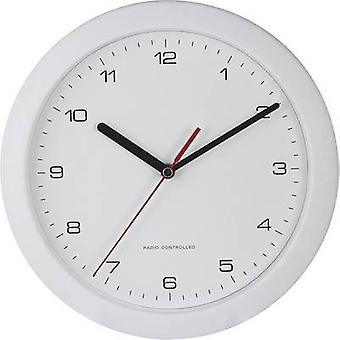 EUROTIME 56786 Radio Wall clock 25 cm x 3.8 cm White