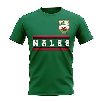 Wales Core fotball land T-Shirt (grønn)