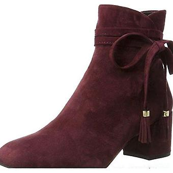 Kenneth Cole Womens Estella Leather Closed Toe Ankle Fashion Boots