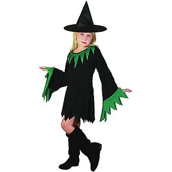 Witch Black/Green (Hat Included), Small.