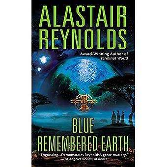 Blau erinnert Erde