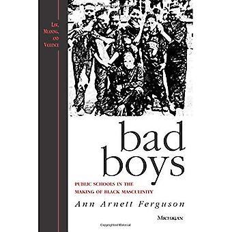 Bad Boys: öffentliche Schulen in der Herstellung von schwarzen Männlichkeit