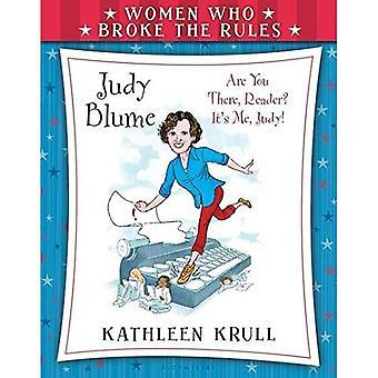 Femmes qui enfreignaient les règles: Judy Blume