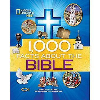 1 000 faits au sujet de la Bible (National Geographic Kids)