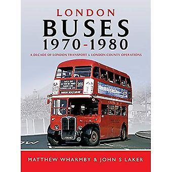 Autobus Londra 1970-1980: un decennio di trasporti di Londra e London Country Operations
