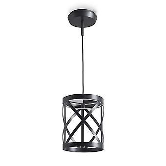 Tåg svart Cylinder LED tak / vägg ljus - lysdioder-C4 00-5687-05-M1