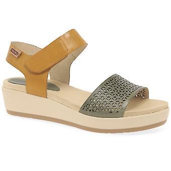 Pikolinos Crete Womens Wedge Heel Sandals