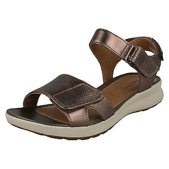 Ladies Clarks sandali non strutturati ONU adornano calma