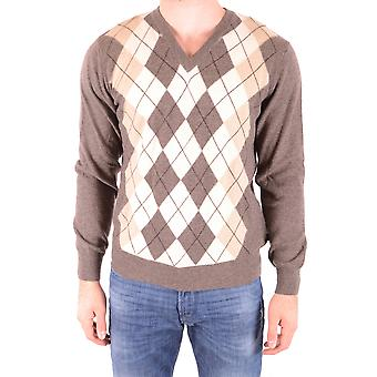 Gant Ezbc144006 Men's Multicolor Wool Sweater