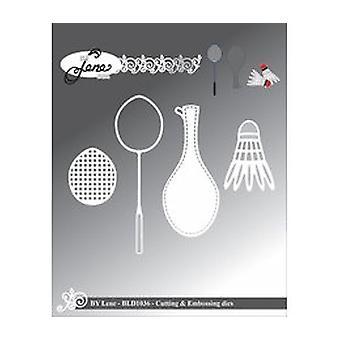 By Lene Badminton Cutting & Embossing Die