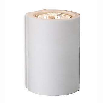 Firstlight Wells enda gips upp eller ner vägg ljus i vitt