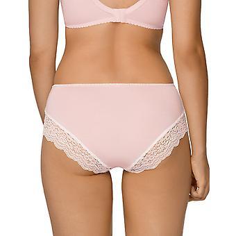 Nipplex Women's Samanta Pink Lace Knickers Panty Full Brief