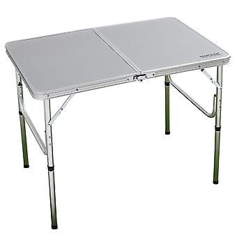 Regatta Cena Camping Bi-Folding Table - Lead Grey