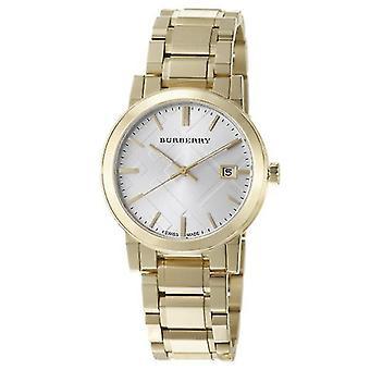 Burberry Bu9003 Gents Gold Tone Steel Bracelet Watch