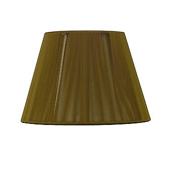 Mantra Silk String Shade Olive 250/400mm X 250mm