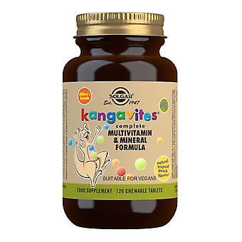 Solgar Kangavites Tropical Punch Chewable Tabs 120 (1019)