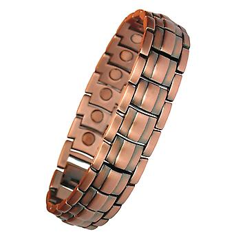 MPS® APOLLO Copper and Zink Magnetic Therapy Bracelet + Free Links Removal Tool