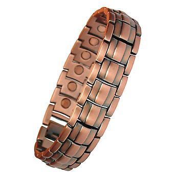 MPS® bracelet de thérapie magnétique APOLLO cuivre et zink + outil de suppression des liens gratuits