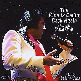 Shawn Klush - King Is Callin' Back Again-Single [CD] USA import