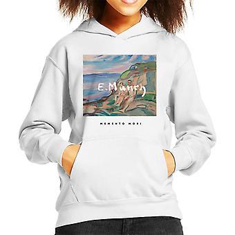 A. P. O. H Edvard Munch strand maleri Memento Mori kid ' s hættetrøje