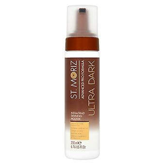 St Moriz Advanced Pro Formula Ultra Dark Instagrad Tanning Mousse
