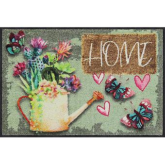 Salonloewe Doormat Garden Home 50 x 75 cm Washable Dirt Mat