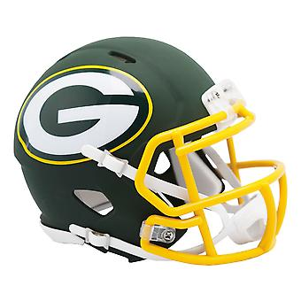 Riddell Speed Mini Football Helmet - NFL AMP Green Bay Packers