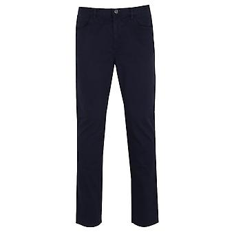 Aquascutum corporal 5 pocket trousers - navy