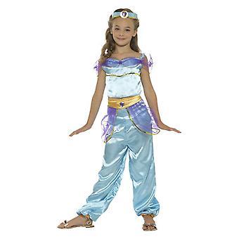Meisjes Arabische prinses Fancy Dress kostuum