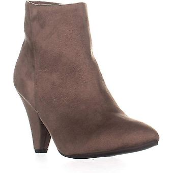 SEVEN DIALS Calzada Pointed Toe High Ankle Boots, Taupe, 7 US