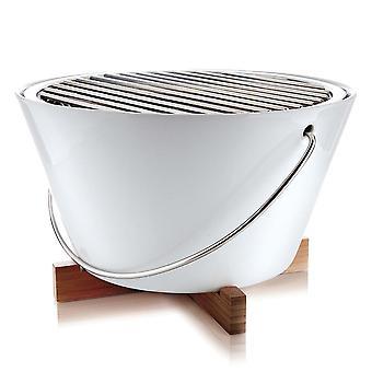 Tabella di Eva solo Grill Porcellana maniglia bianco 571020 30 cm