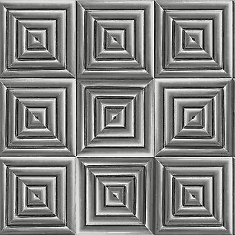 Metallic Quadrat Tapete Muriva