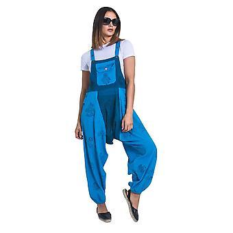 מכנסי בלוז אופל-כחול