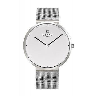 Obaku Papir Steel Homme-apos;s Montre-bracelet V230GXCWMC Montre-bracelet