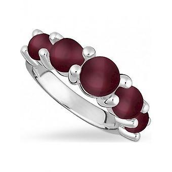 QUINN - Ring - Damen - Silber 925 - Weite 56 - 021206663