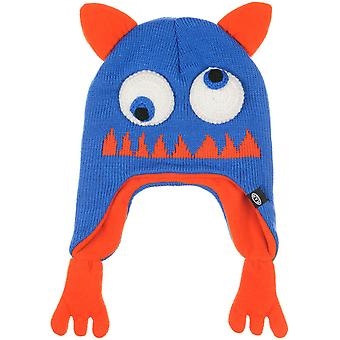 Animal Nozan Beanie in Vibrant Blue